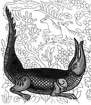 Krokodil-Ornament